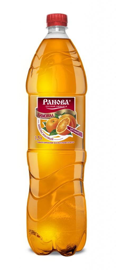 Лимонад Апельсиновый 1,5 л.